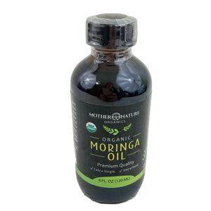 USDA Organic Moringa Oil Cold Pressed